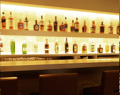 image of bar counter